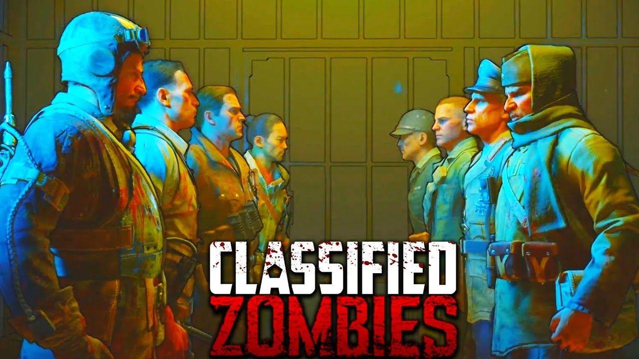 CLASSIFIED EASTER EGG ENDING CUTSCENE (Black Ops 4 Zombies