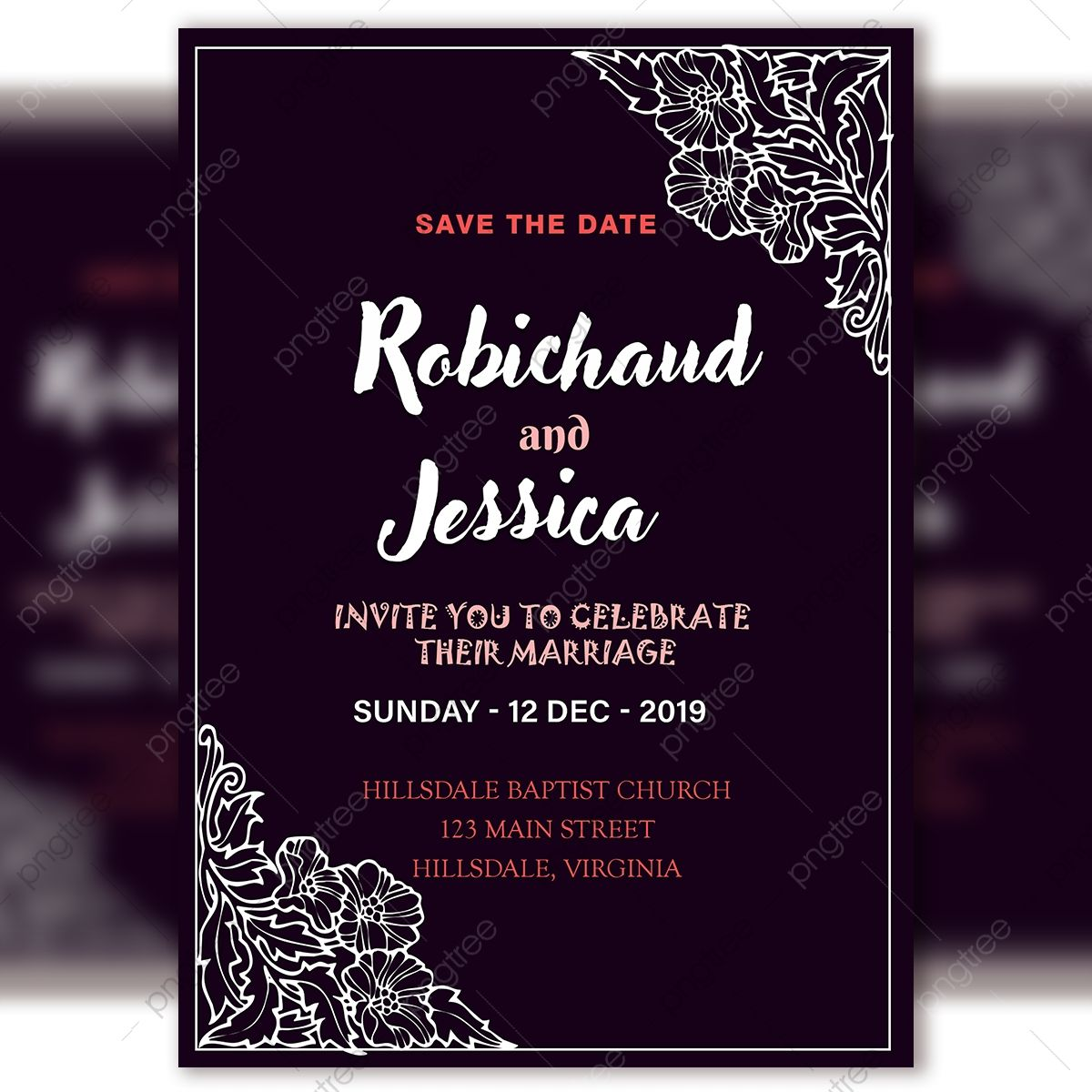 8 Awesome Invitation Card Template Psd Vintage Wedding Invitation Cards Wedding Invitation Card Template Vintage Wedding Invitations