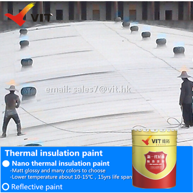 Source VIT thermal insulation paint, nano ceramic coating 9h , heat