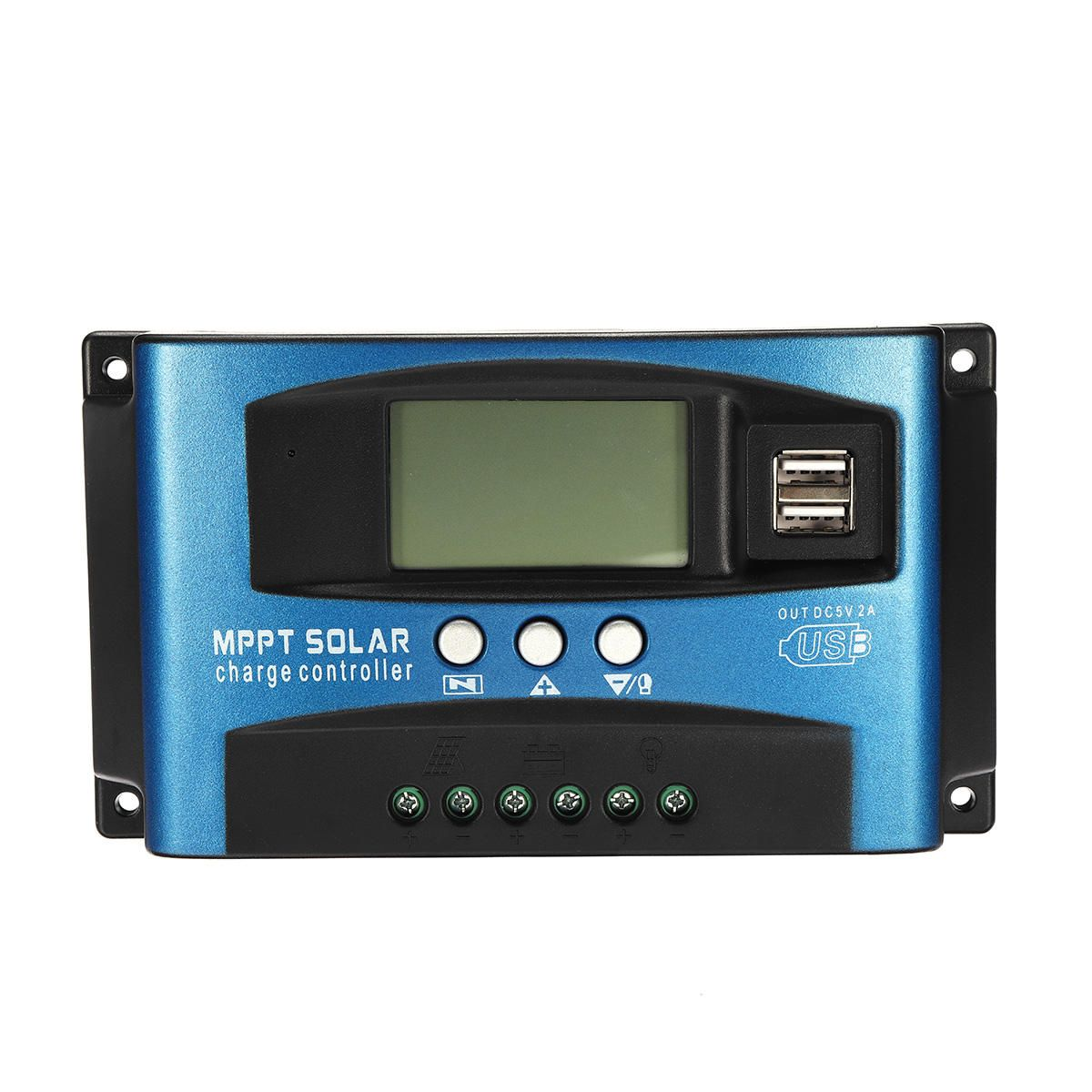 30 40 50 60 100a Mppt Solar Controller Lcd Solar Charge Controller Accuracy Dual Usb Solar Panel Battery Regulator Electrical Equipment Supplies From Industri Solar Solar Panel Battery Solar Panels