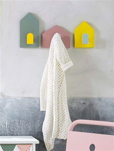 3er set kleiderhaken f r kinder farblich sortiert diy grandpa pinterest kleiderhaken. Black Bedroom Furniture Sets. Home Design Ideas
