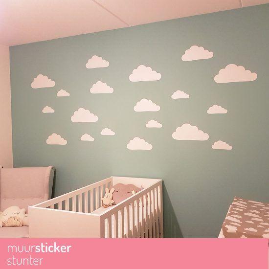 wolken-wolkjes-cloud-clouds-muurstickers-wandstickers-babykamer, Deco ideeën