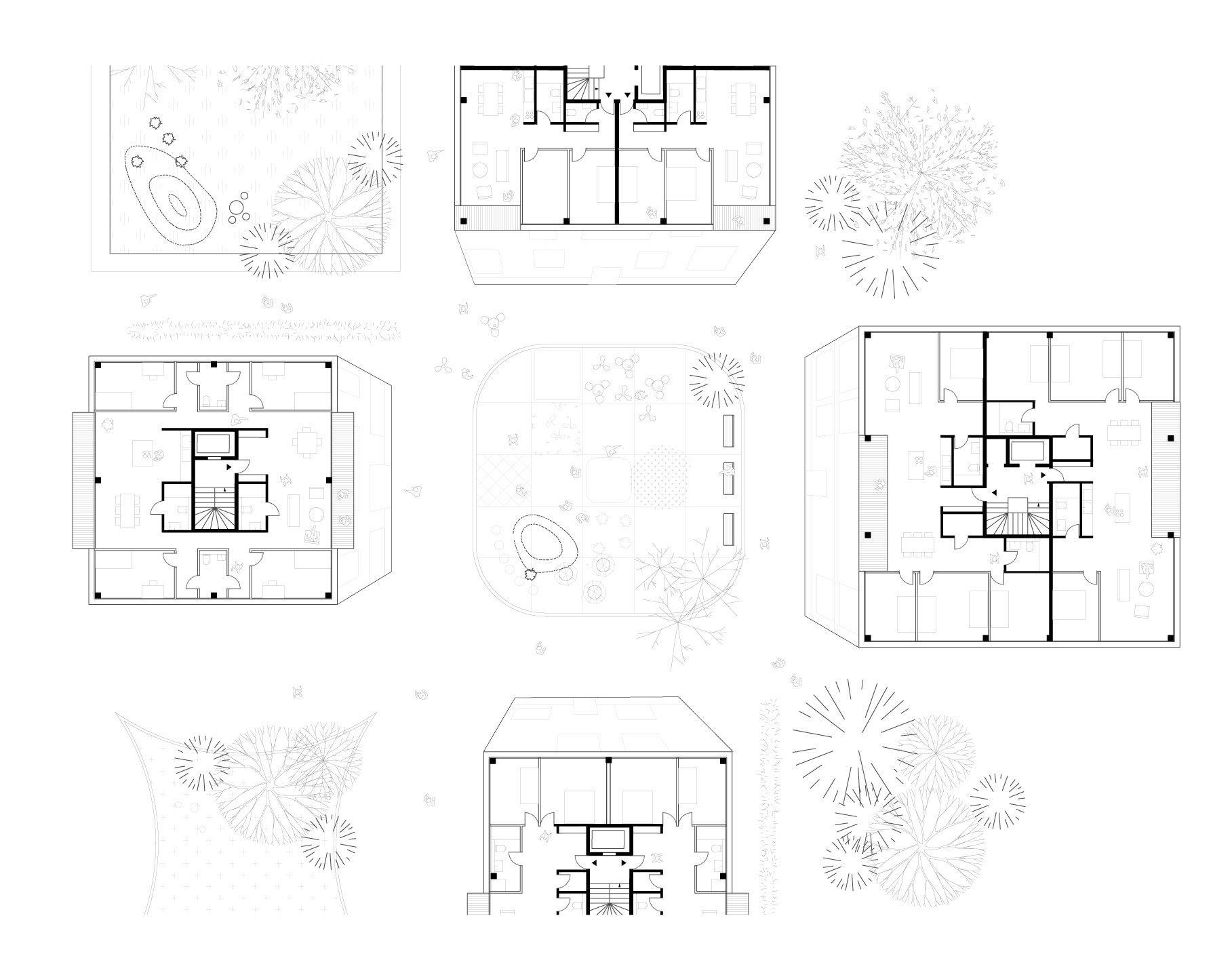Wettbewerb für neues Quartier in Lörrach / FAKT und David Levain