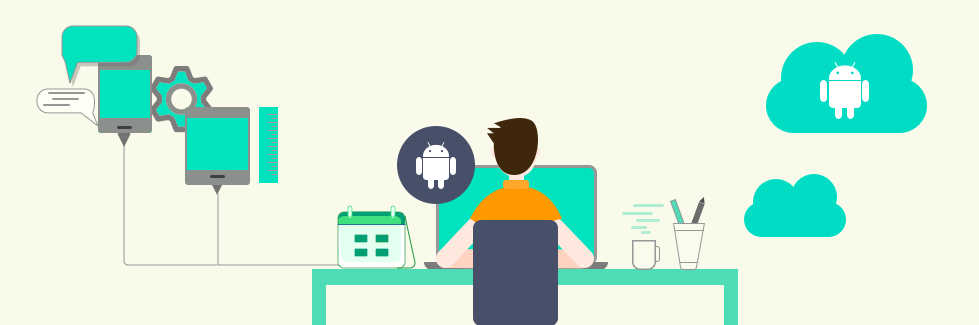 How is Android app developed Software development