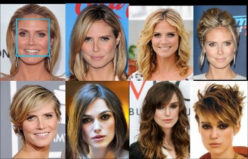 Best Hairstyles For Your Face Shape Square Square Face Hairstyles Square Face Shape Face Shapes
