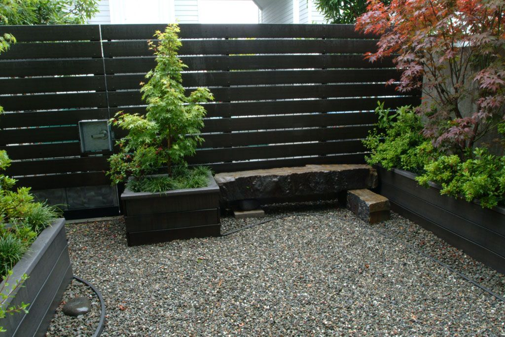 Stone Bench Trex Fence Wooden Fence Brick Fence