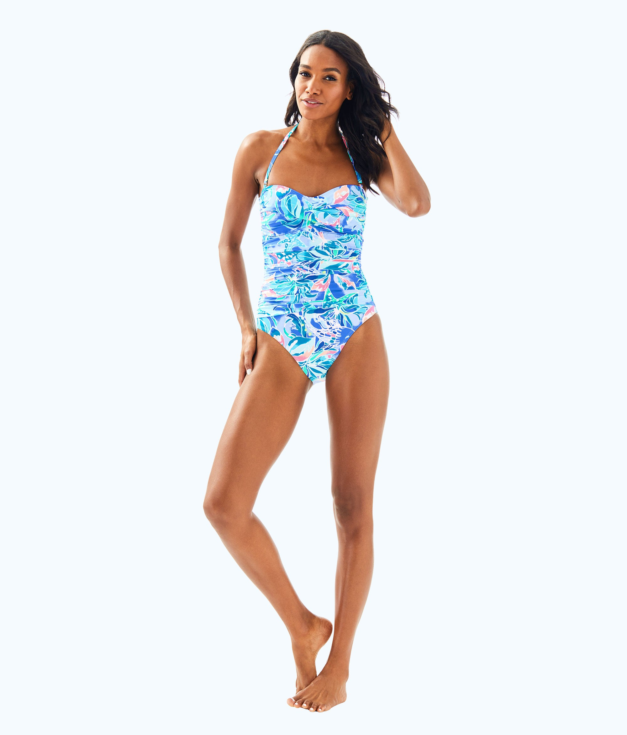 73226bd325e49 Lilly Pulitzer Flamenco One Piece Swimsuit - 12 | Products ...