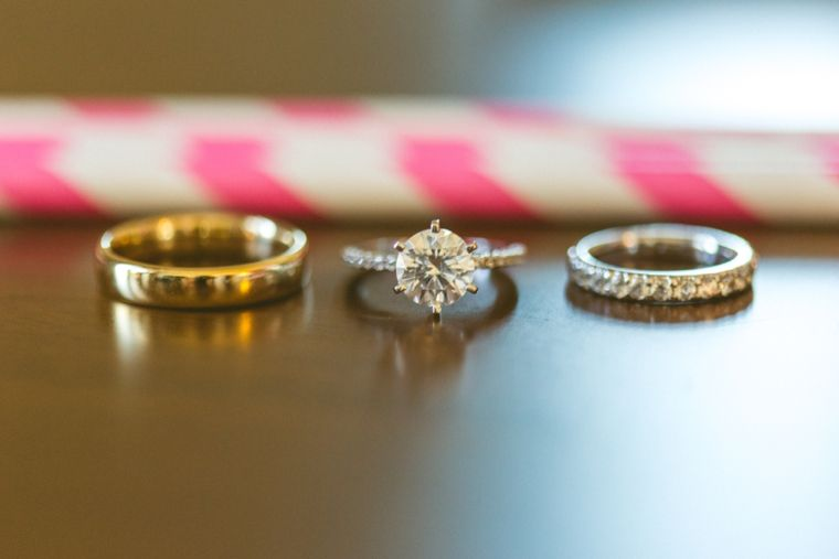 A Modern Ethereal Glitter Blush Wedding