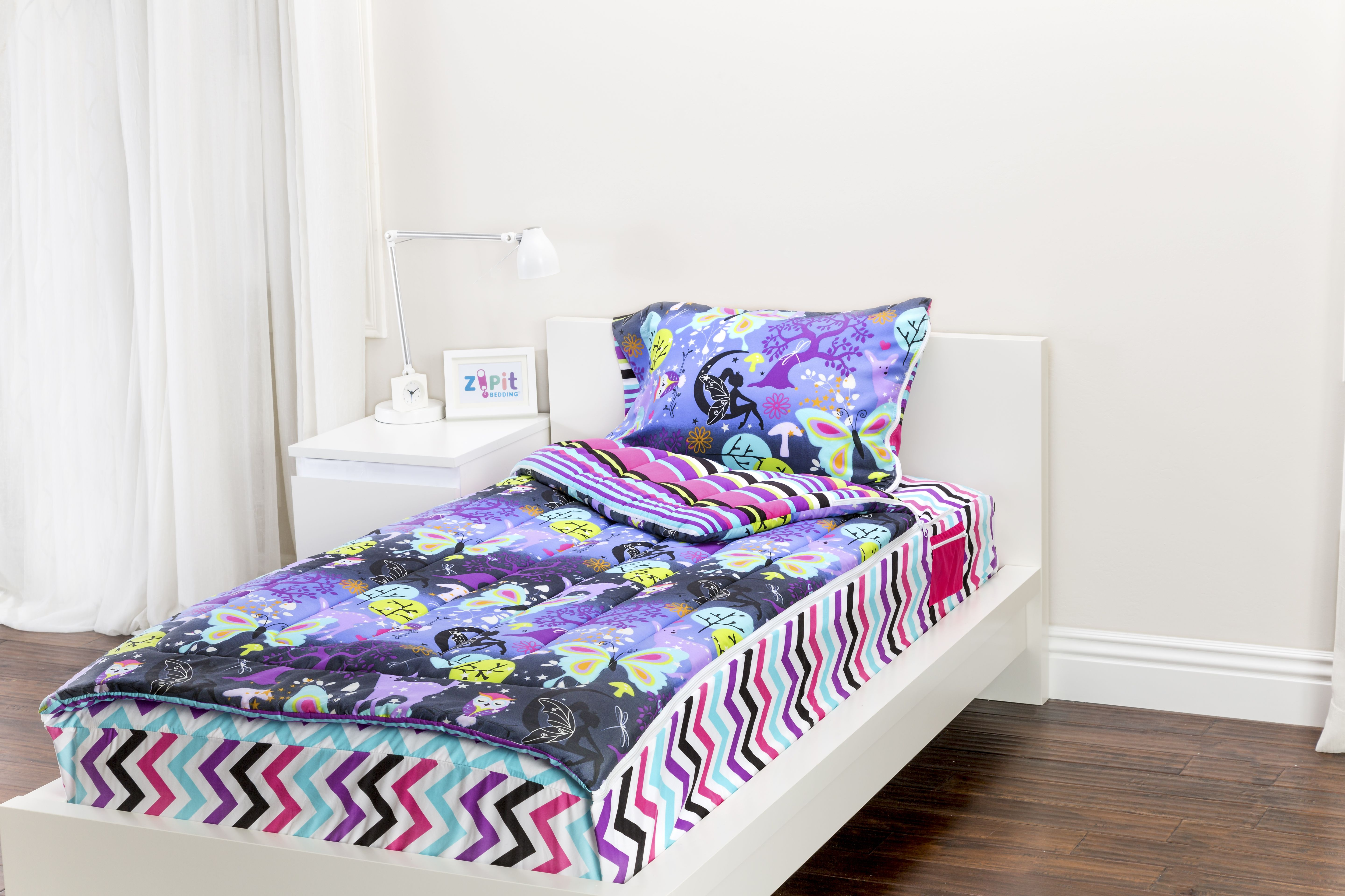 Zipit Bedding Mix 'N Match with Fantasy Forest and Rocker