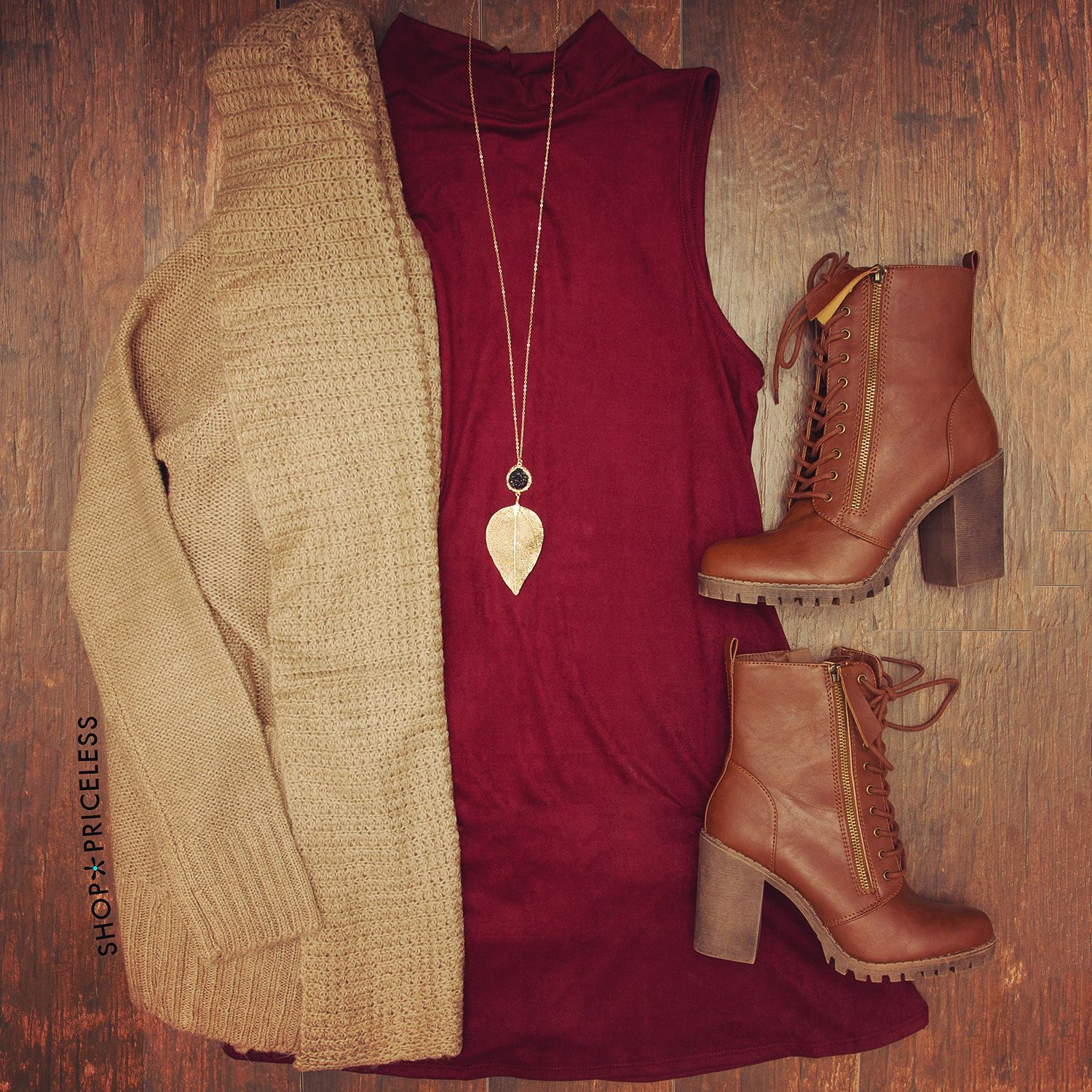 Noelle Knit Cardigan - Taupe