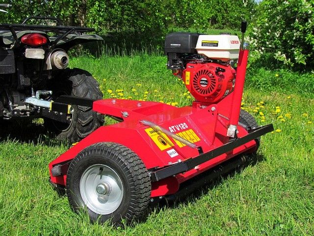 ATV flail mower - Product | Back Yard | Atv accessories, Atv