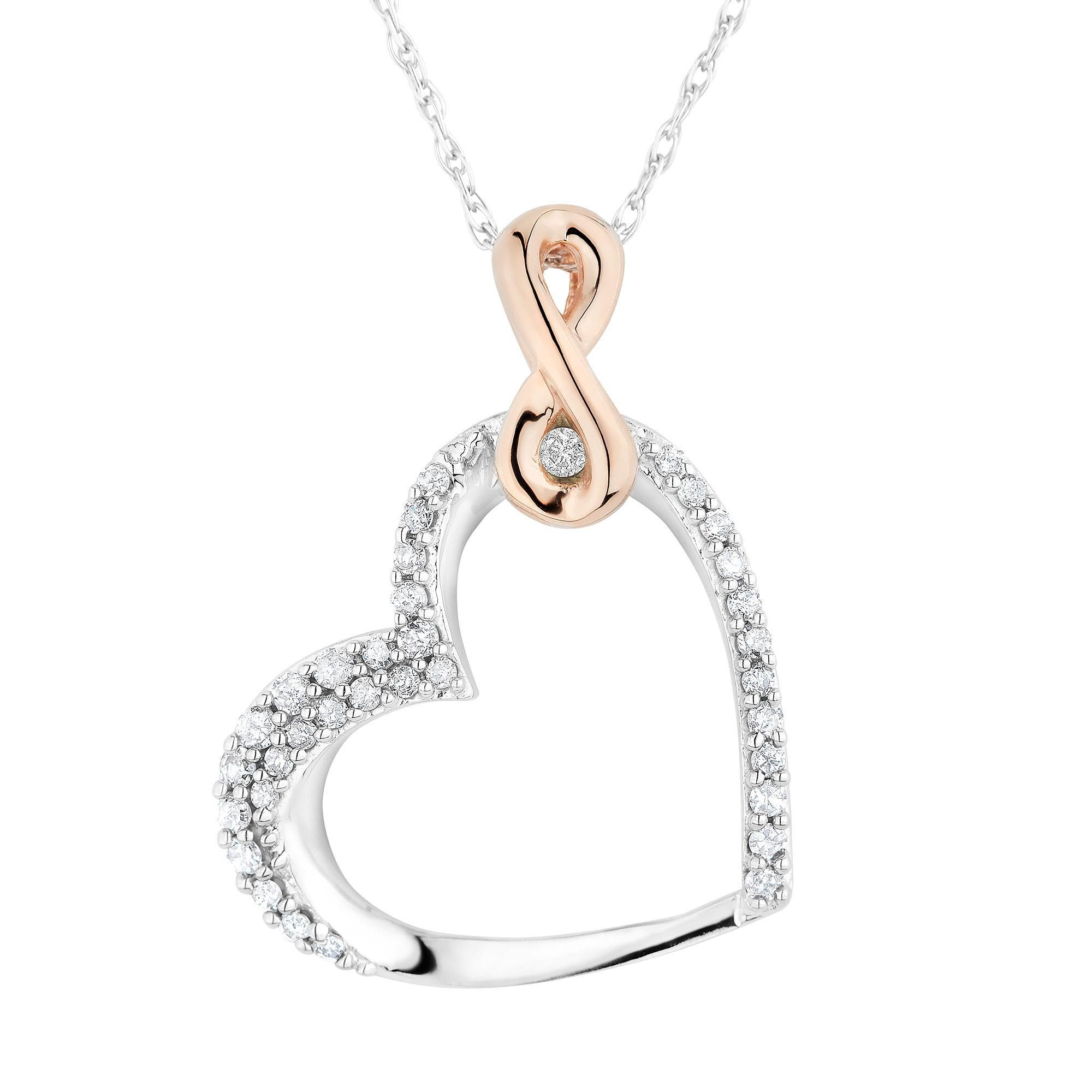 infinity kr necklace en pendant rc