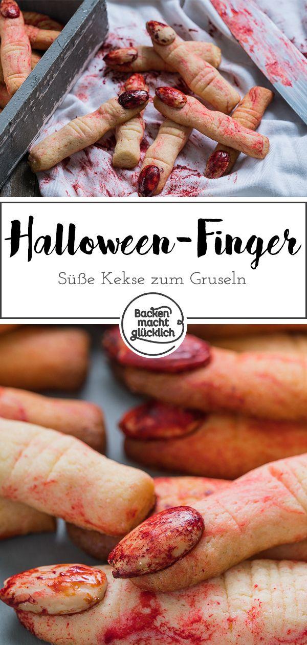 Halloween Finger Kekse   Backen macht glücklich