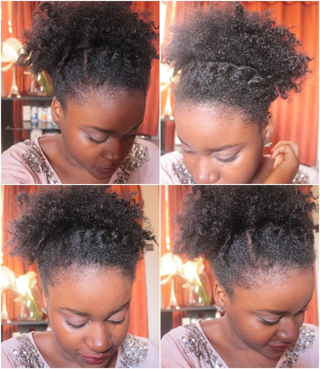Nappy Diary Blog Cheveux Crepus Idees Coiffures Natural Hair Styles Hair Hacks Natural Hair Updo