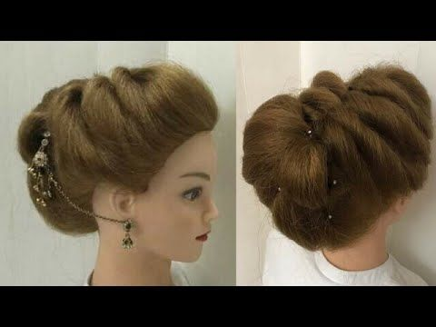 Easy Weddings Or Functions Hairstyle Diy How To Fix Mag Tikka With Puff Youtube Easy And Beautiful Hairstyles Hair Styles Long Hair Tutorial