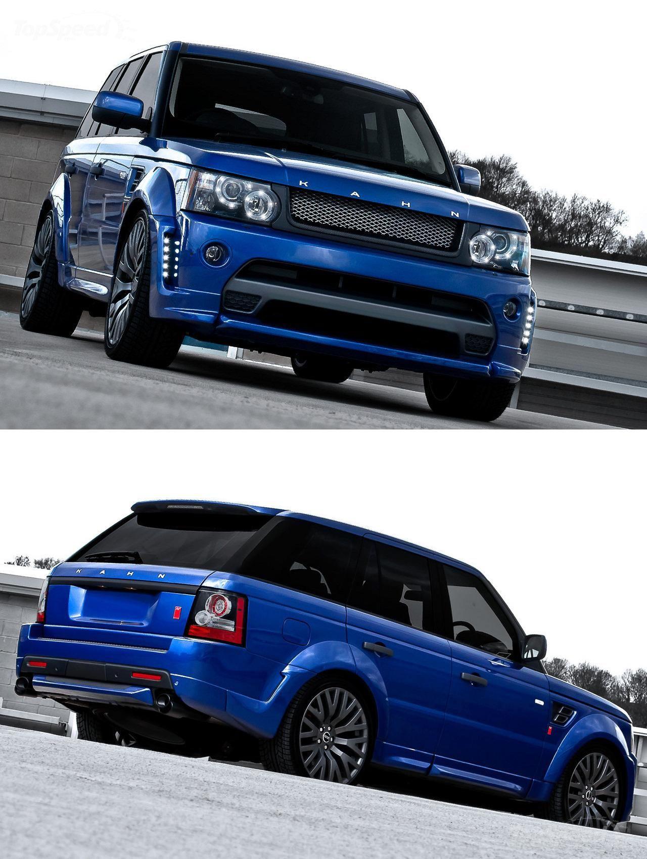2012 Range Rover Rs300 Cosworth Bali Blue Kahn Design Range Rover Sport Land Rover Sport Range Rover Supercharged