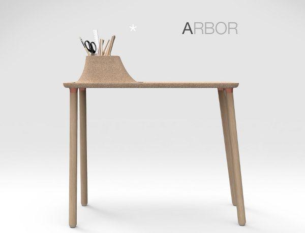 ARBOR le bureau dappoint par Tim Defleur Arbors Bureaus and Desks