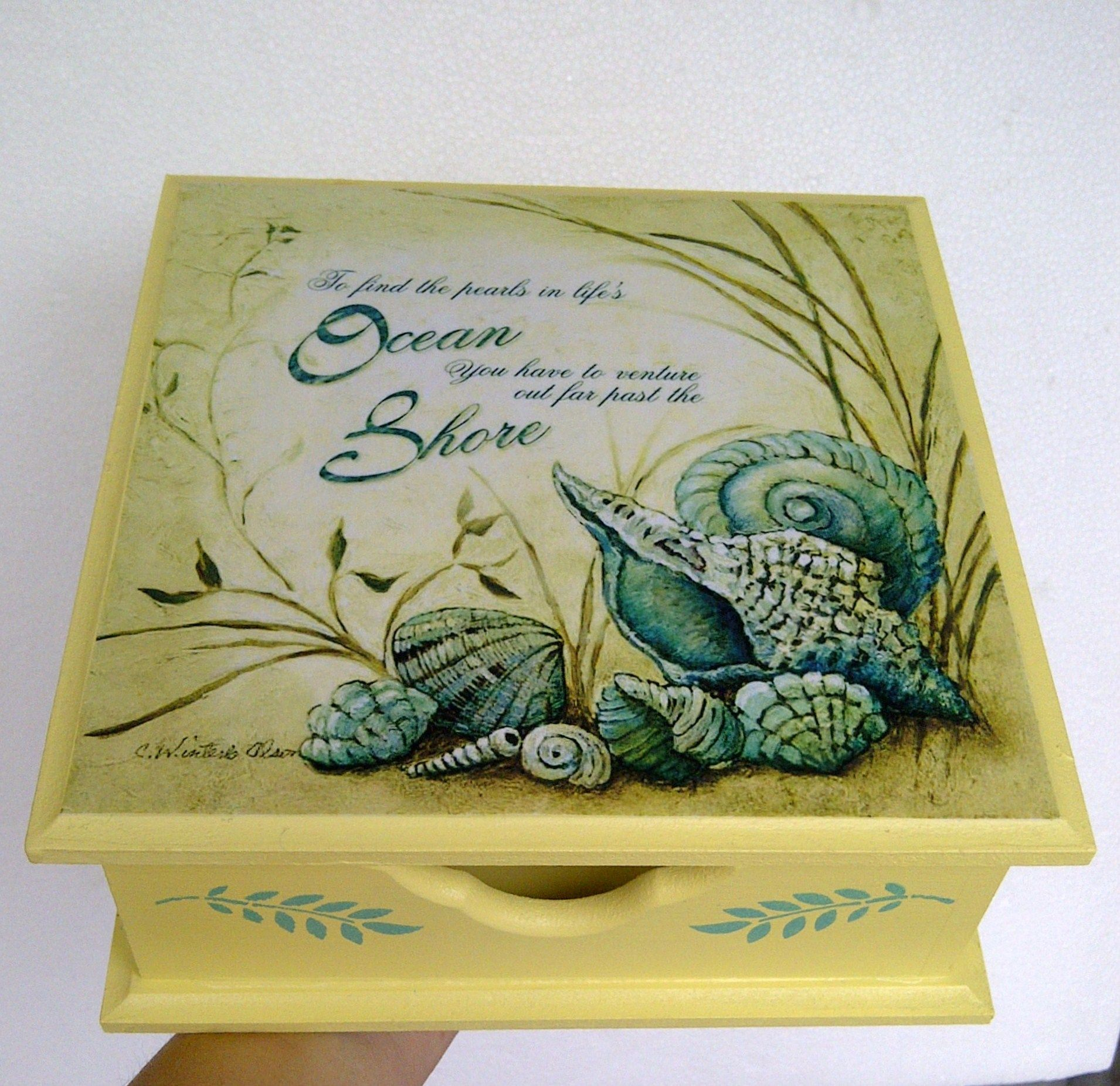 Decoupage decoupage pinterest cajas pinturas for Cosas decorativas para el hogar