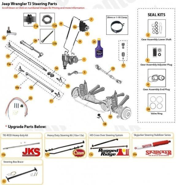 2000 Jeep Sahara Parts Diagram