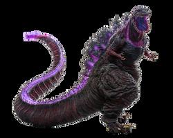 Shin Godzilla Transparent Ver 18 By Jacksondeans Godzilla Deviantart Rendering