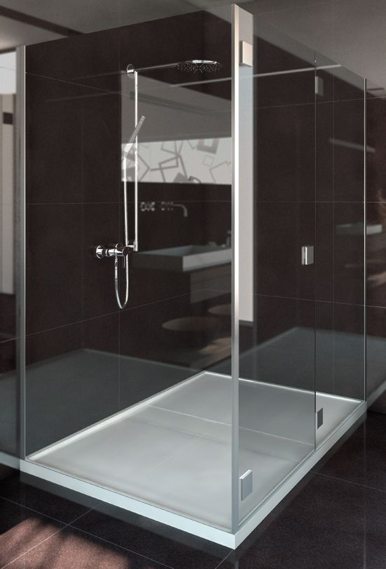Contemporary Art Websites Doppio by Silestone shower tray