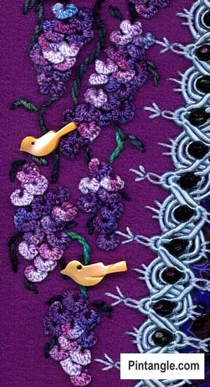 Cast On Stitch Sample 8 Stiches Pinterest Stitch Embroidery