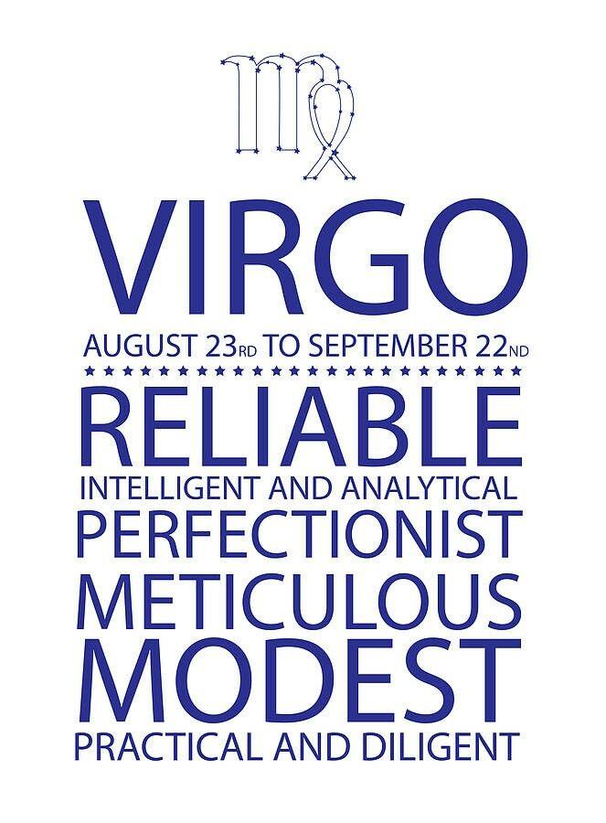Virgo August 23rd To September 22nd Star Signs Virgo Horoscope Virgo Quotes