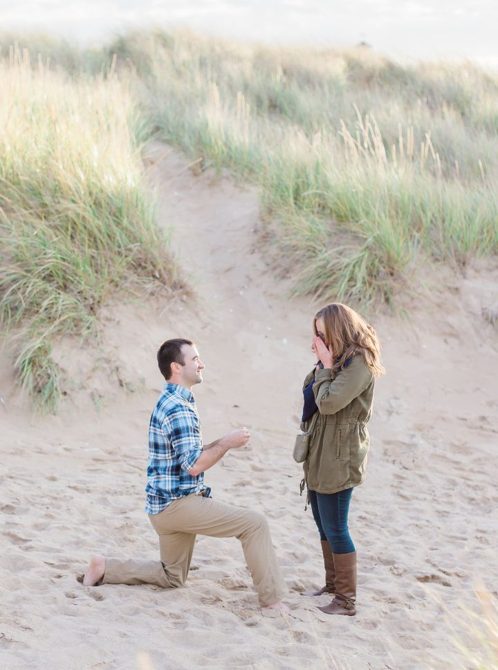 A Surprise Beach Proposal