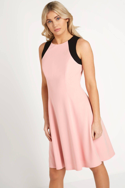 pink skater dress uk