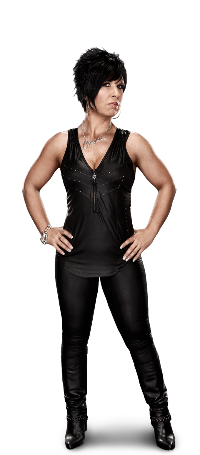 Vickie Guerrero Love Her Body Muscular Yet Still Has Curves