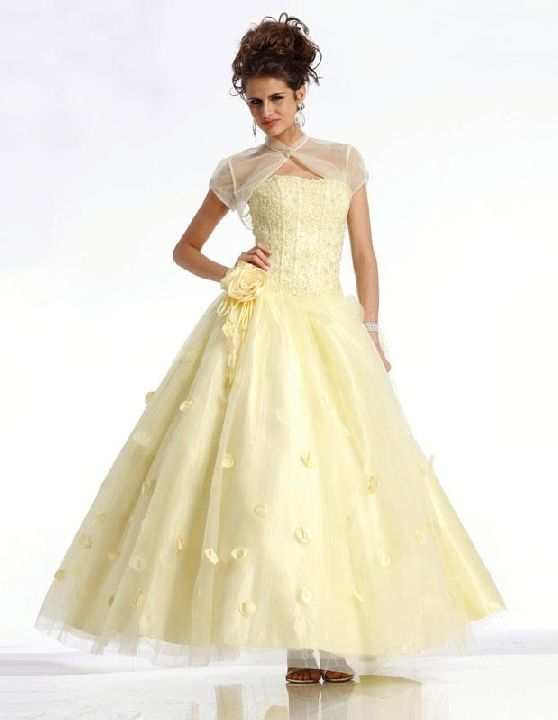 yellow prom dress--my first formal dance dress in 1969 was pale ...