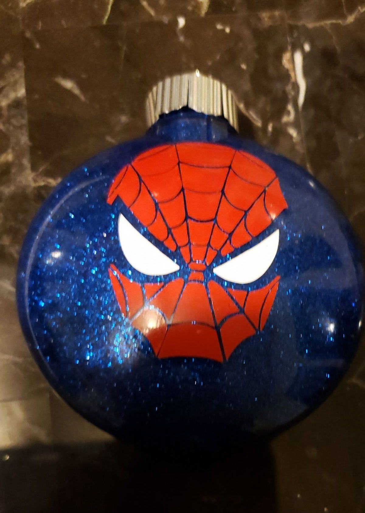 Spiderman Ornament Vinyl Christmas Ornaments Spiderman Christmas Personalized Ornaments