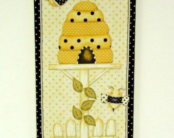 Country Decor Kitchen Wall Art Home Bee