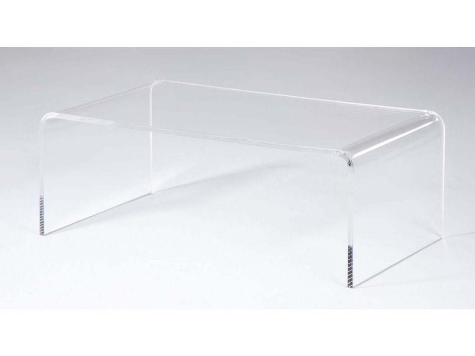 basse basse TransparentTable LESLIE Table Acrylique XiZPku