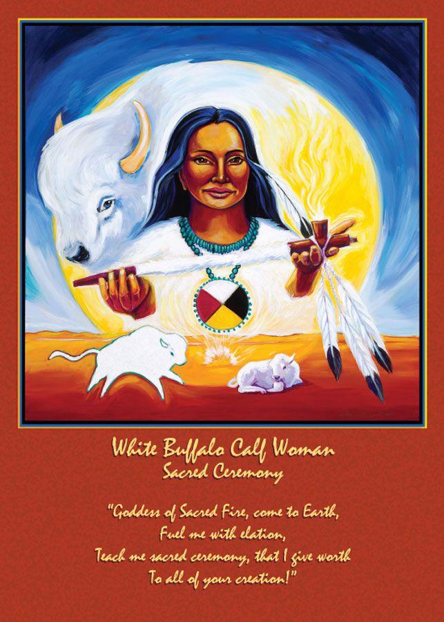 white buffalo calf women
