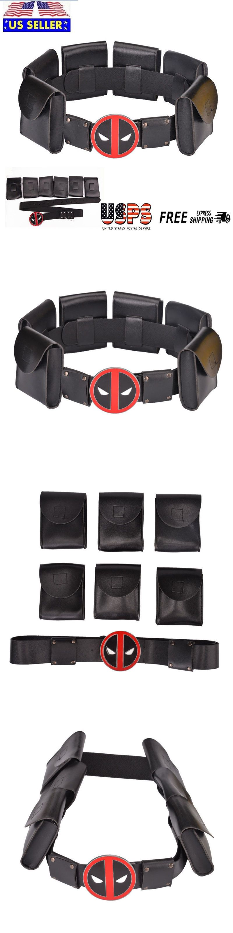 Belts and Sashes 175642  X-Men Deadpool Superhero Metal Belt Accessories  Kid Adult Cosplay Costume Us -  BUY IT NOW ONLY   19.01 on  eBay  belts   sashes ... 10e83a0c175