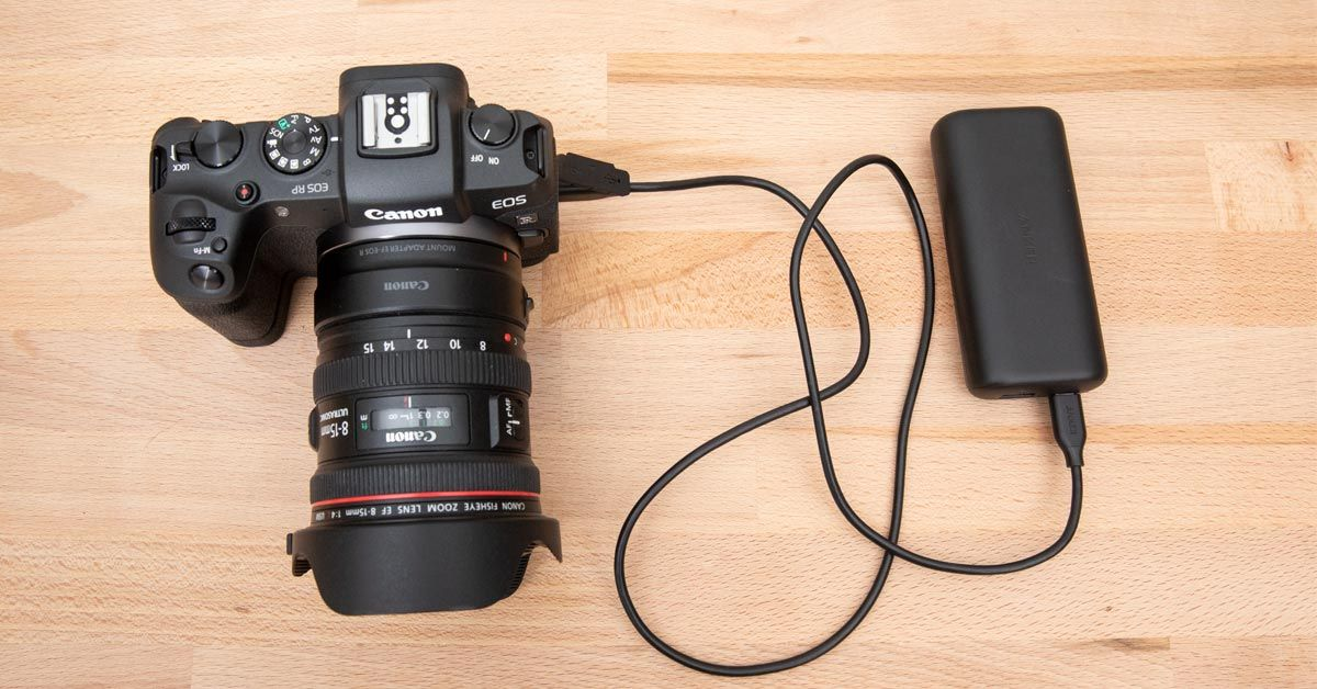 Best USB Charger and Battery For the Canon EOS RP (& EOS R) | Usb ...