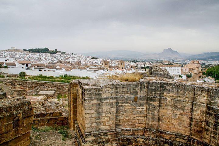 Desde las Termas Romanas en Sta. María #Antequera por Luz Enredada http://bit.ly/2bVnG4b