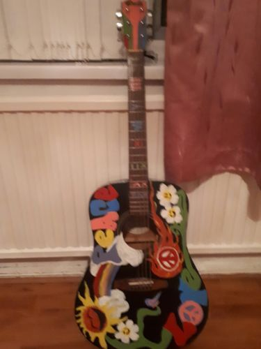 Fender Guitar Made In Indonesia Plays But Sold As Decorative A One Off Fender Guitars Prs Guitar Guitar