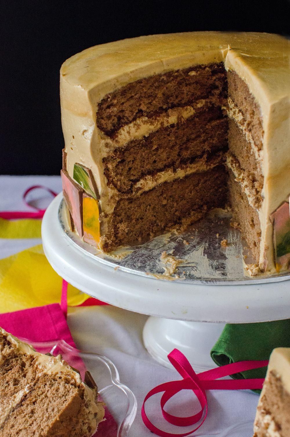 Dalgona Sponge Cake Recipe flavours of my kitchen