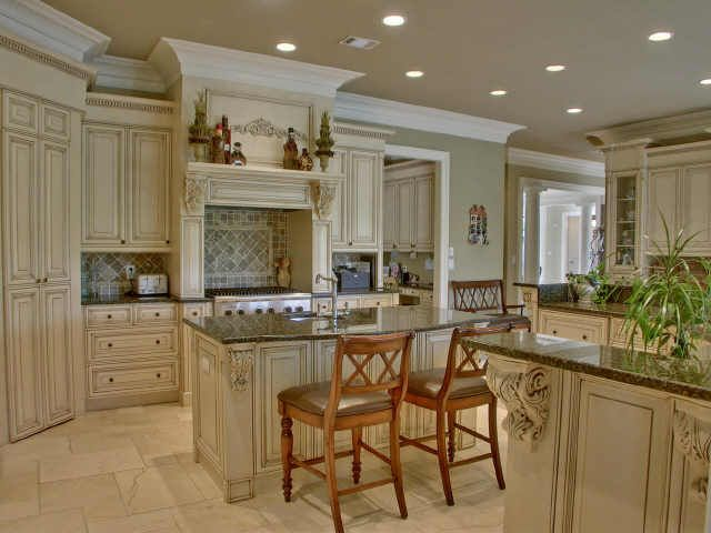 High end tuscan kitchen islands gourmet kitchen w 2 for Gourmet kitchen island