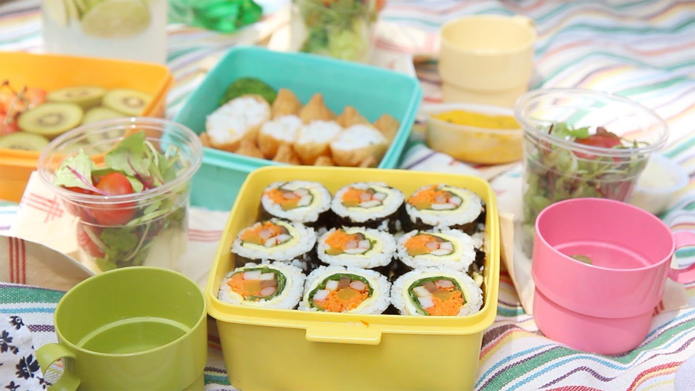 [SUB] 피크닉 도시락, 김밥 만들기 : How to make KIMBAP(GIMBAP) for picnic