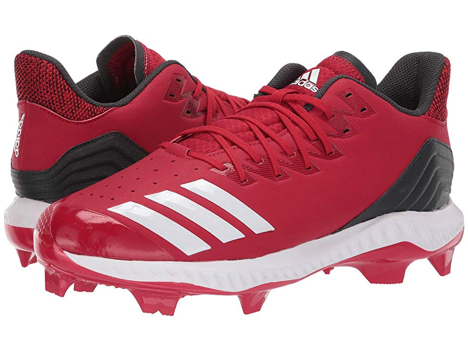 cd802c803faa adidas Icon Bounce TPU Men's Cleated Shoes Power Red/Footwear White/Carbon