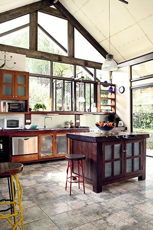 Rl Picks Top 8 Filipino Kitchens Filipino Interior Design House Modern Nature Decor