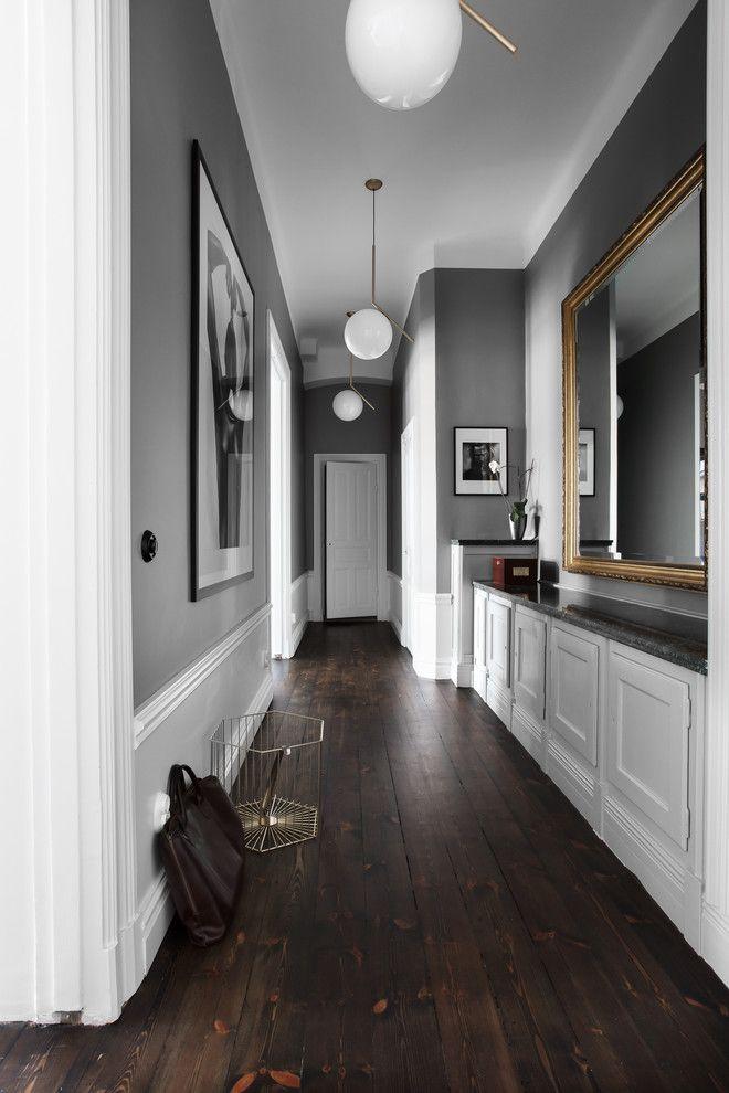 18 Beautiful Scandinavian Hallway Designs You Need To See #hallwaydecorations
