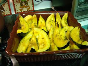 Pioneer Woman's Roasted Acorn Squash My Mom made this for Thanksgiving and it was soo good!