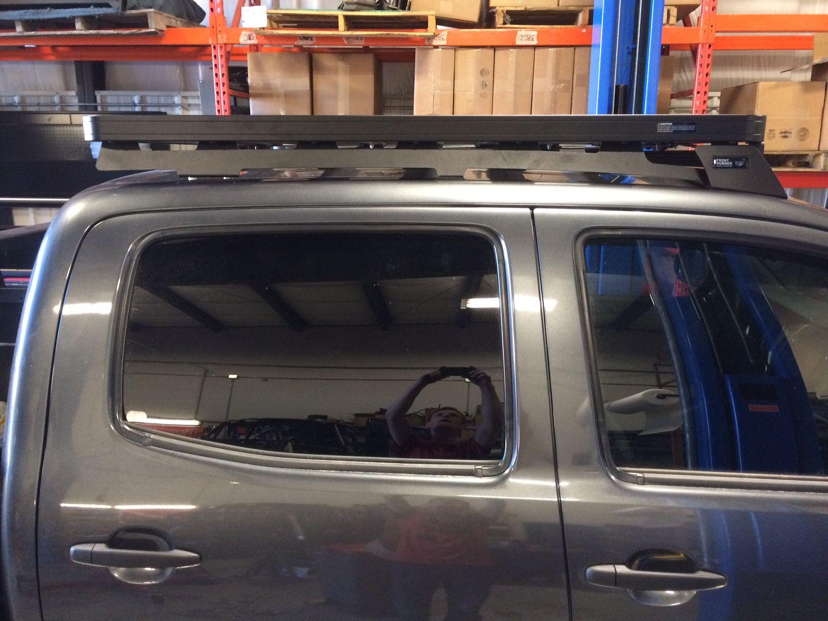 Frontrunner Slimline II roof rack install