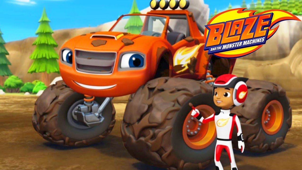 a979847102 Blaze and the monster machines race car trucks for children videos ...