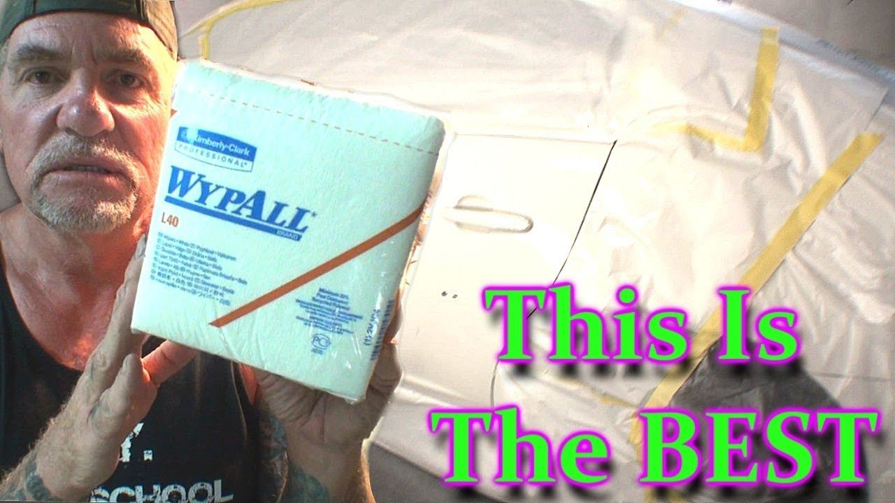 Wypall Towels How To Prep A Car Before Painting Car