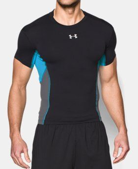 cf87a3c9bdd Men s UA HeatGear® Armour® Stretch Short Sleeve Compression Shirt ...